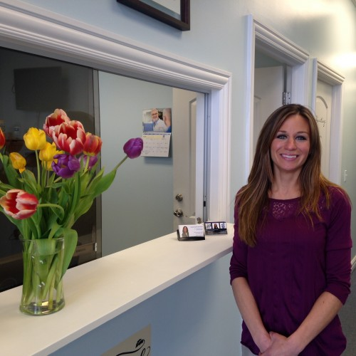 Chiropractic assistant Joy Johns